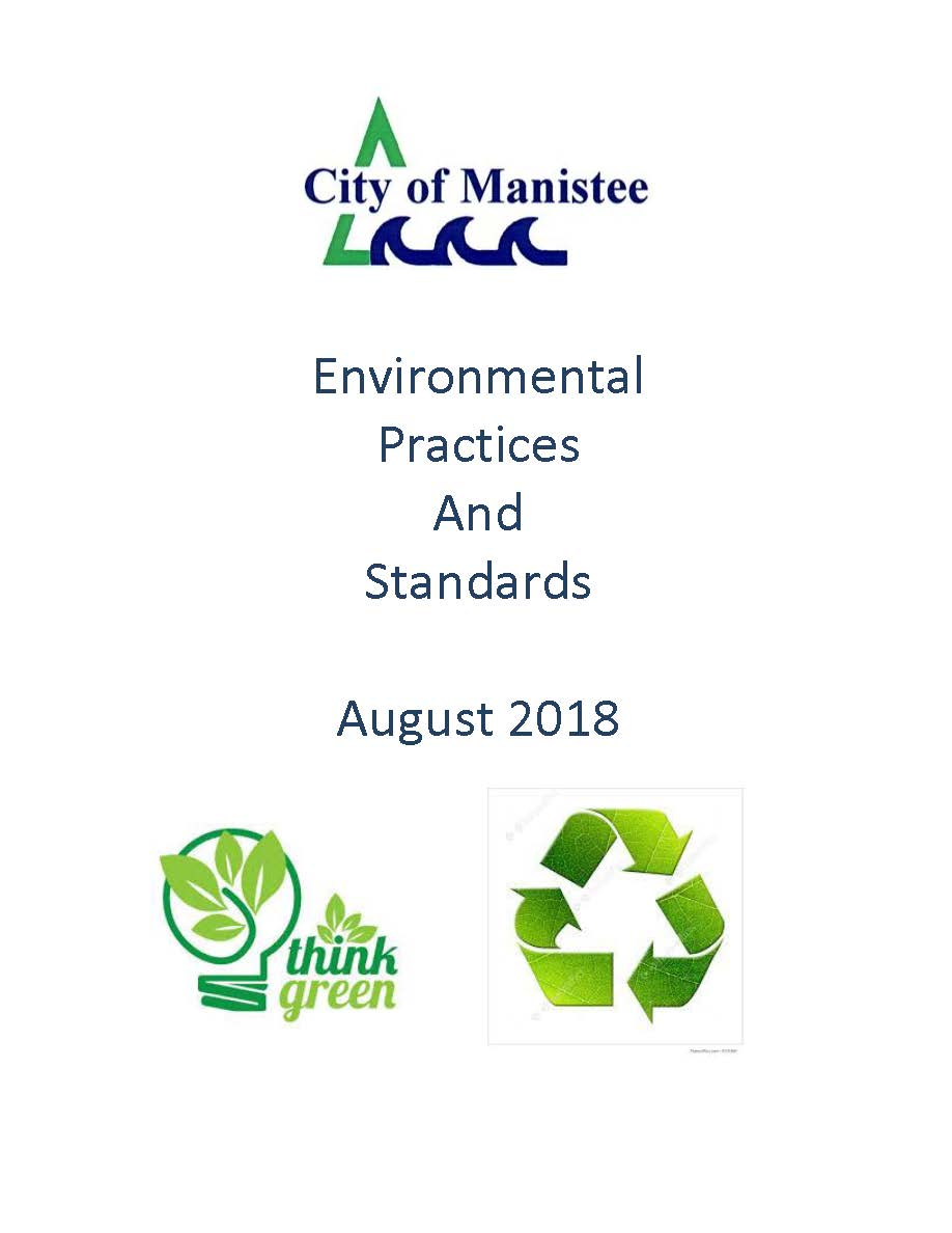 Environmental Practices and  Standards  August 2018 cover page